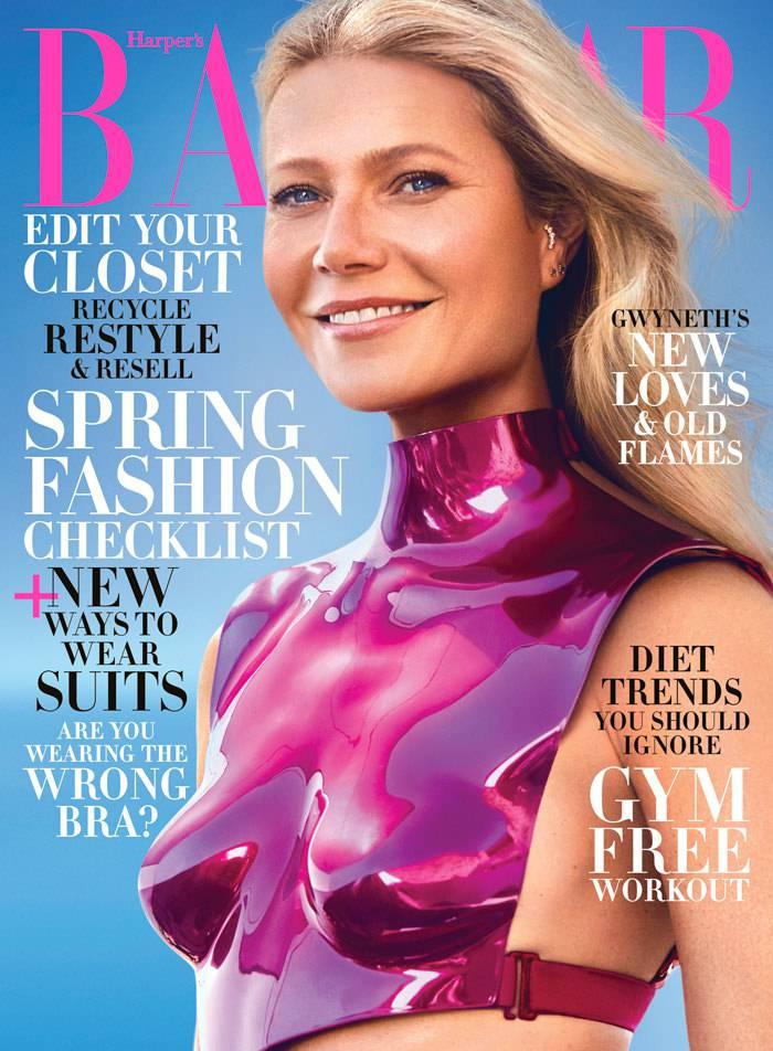 Gwyneth Paltrow na okładce Harper's Bazaar