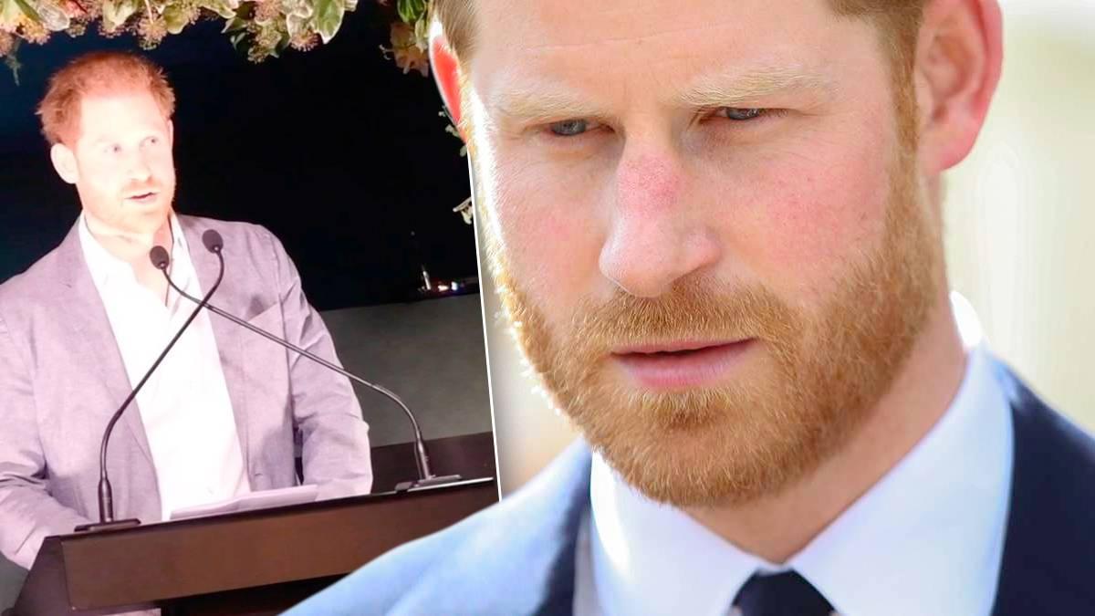 Książę Harry, przemówienie