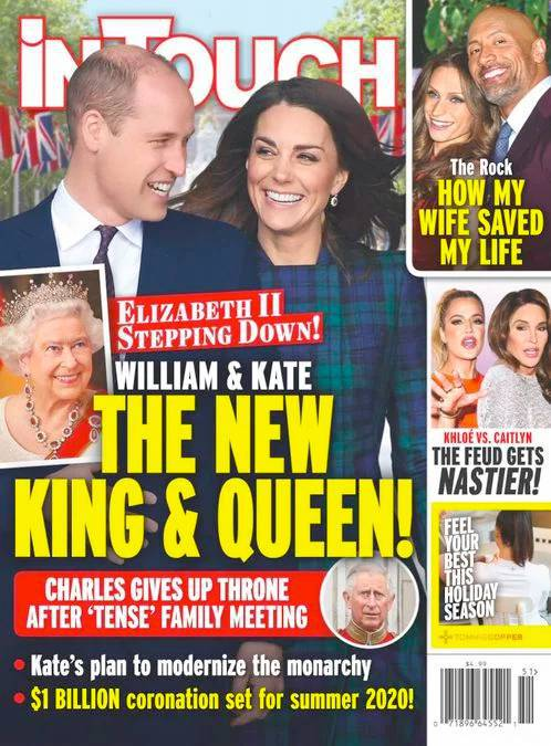 InTouch o koronacji Kate i Williama