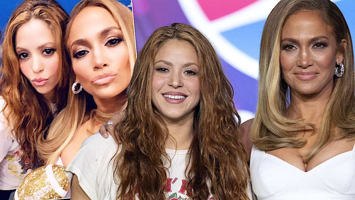 Jennifer Lopez i Shakira – konferencja przed Super Bowl