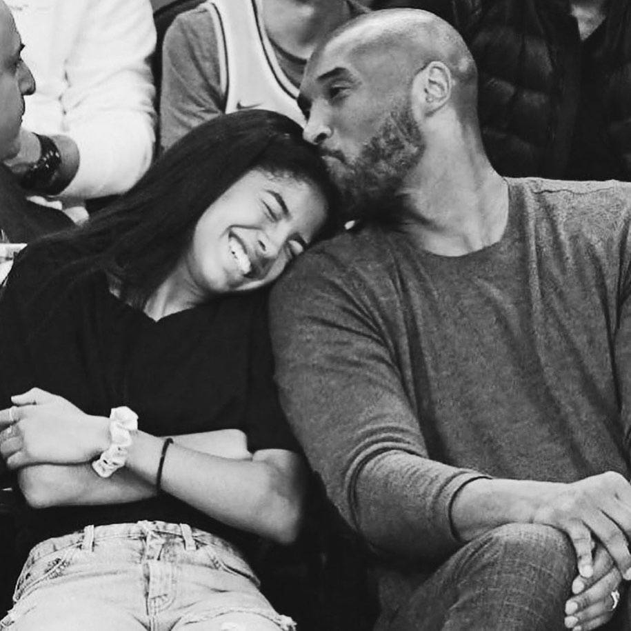 Kobe Bryant z córką, Instagram Jennifer Lopez