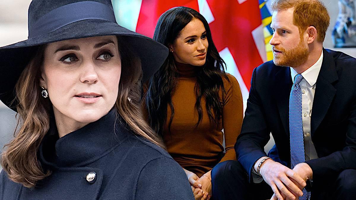 Księżna Kate, Meghan Markle i książę Harry