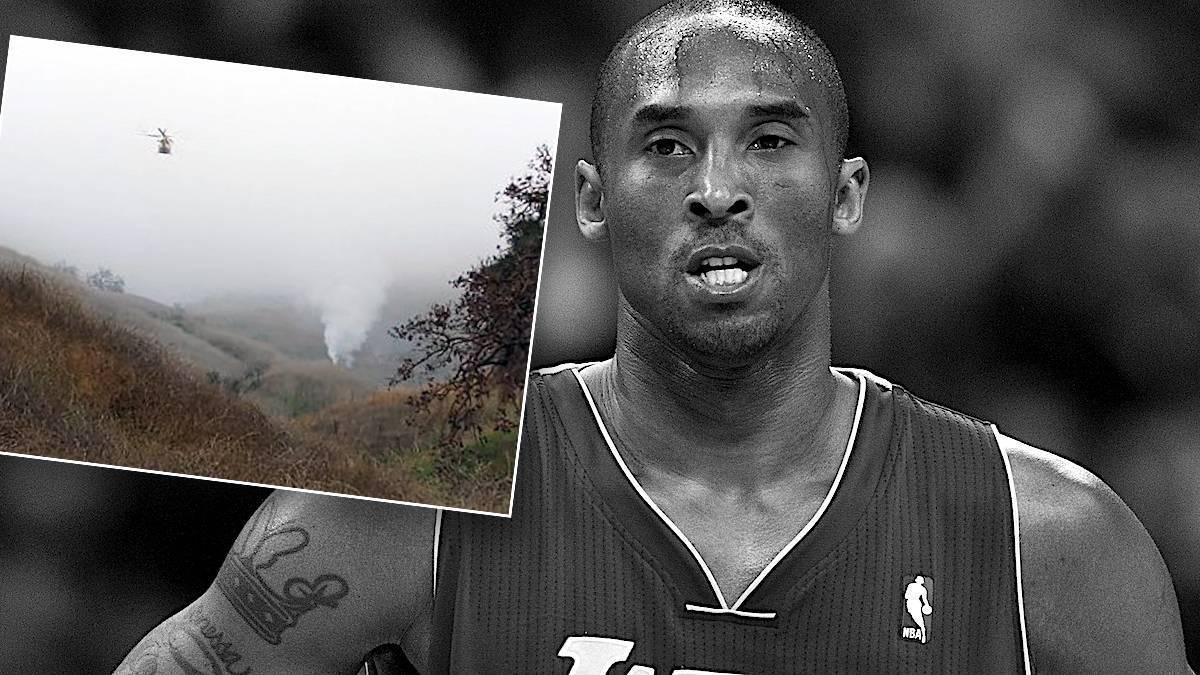 Kobe Bryant – zdjęcia z katastrofy helikoptera