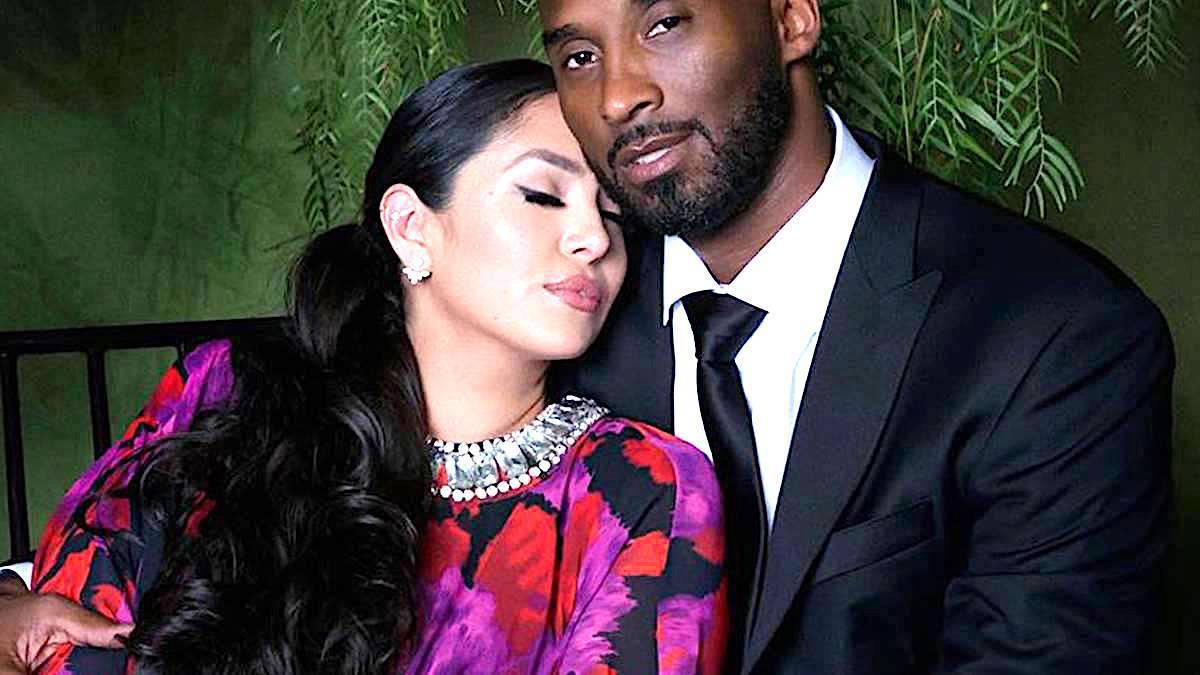 Kobe Bryant z żoną Vanessą