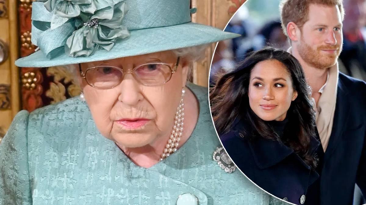 Królowa Elżbieta II, Meghan i Harry