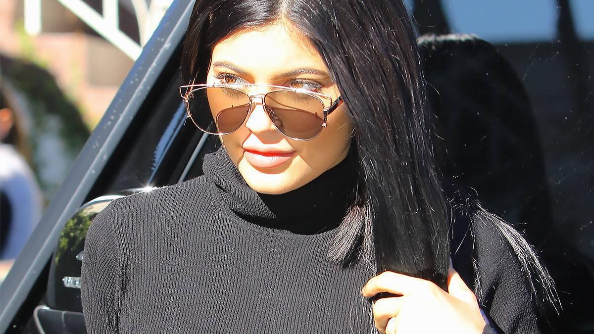 Kylie Jenner w nowych włosach