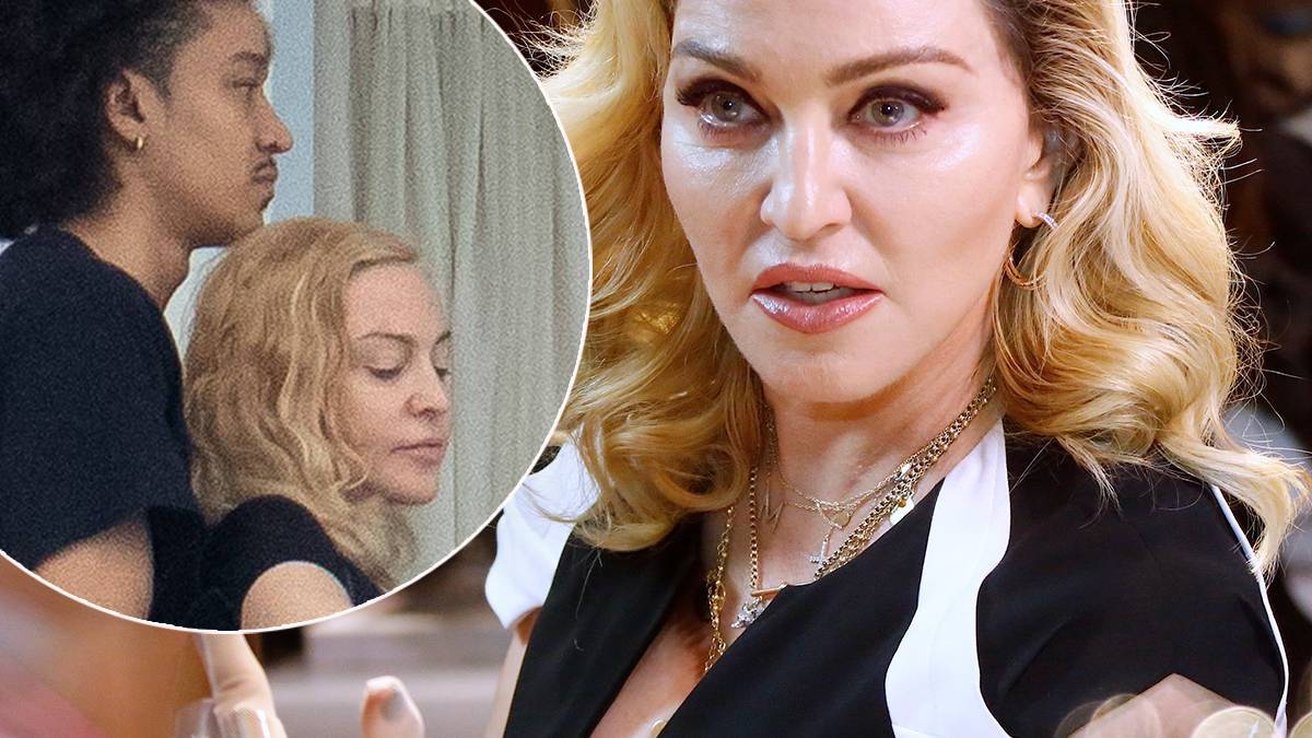 Madonna spędziła sylwestra z młodszym partnerem