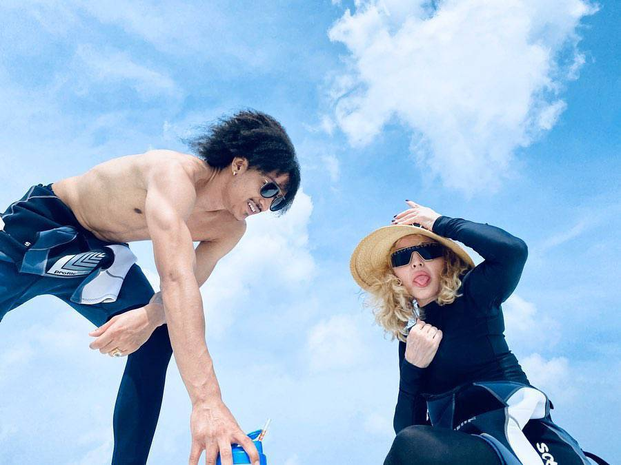 Madonna i Ahlamalik Williams