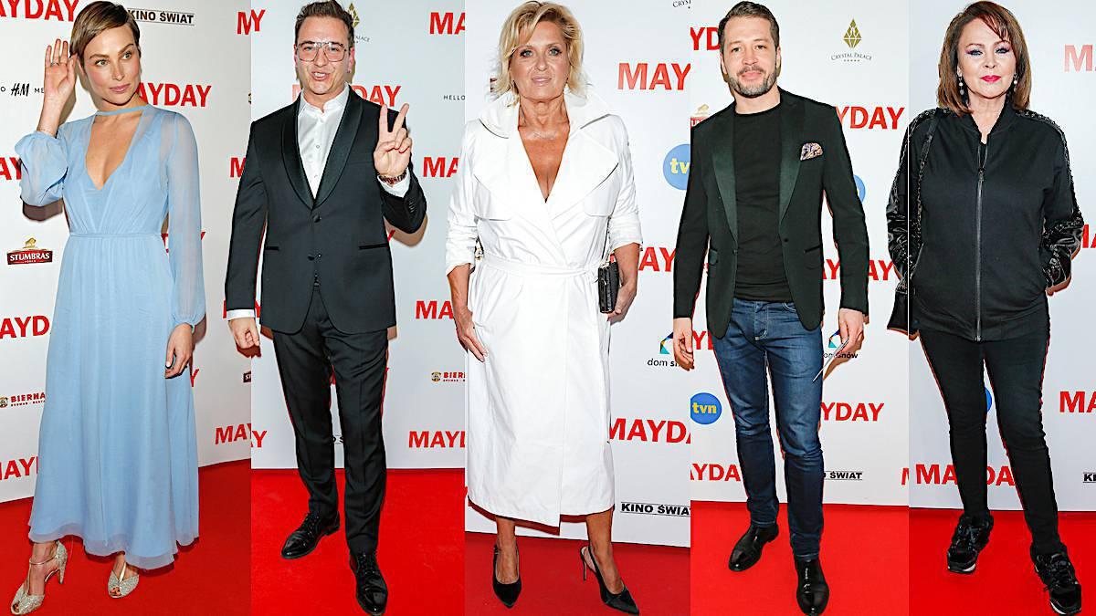 Mayday – gwiazdy na premierze filmu