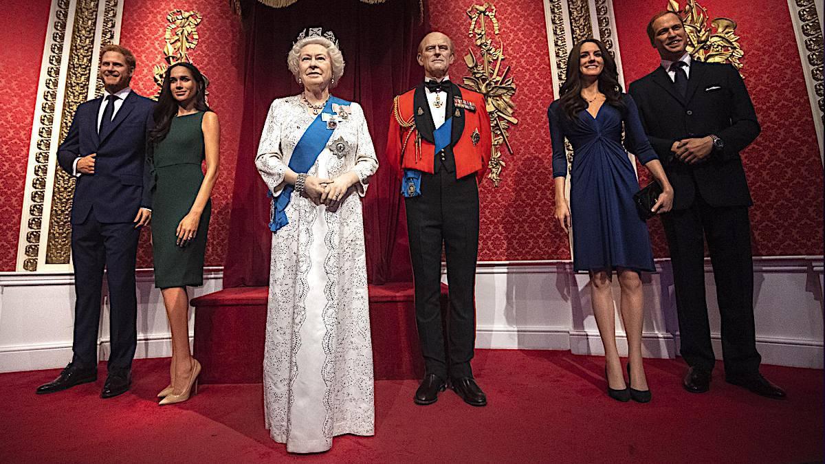 Madame Tussauds: Figury rodziny królewskiej