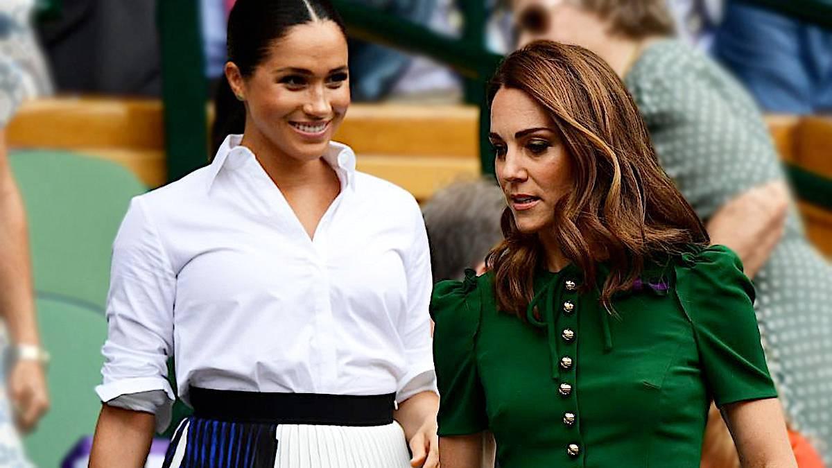 Meghan Markle i księżna Kate