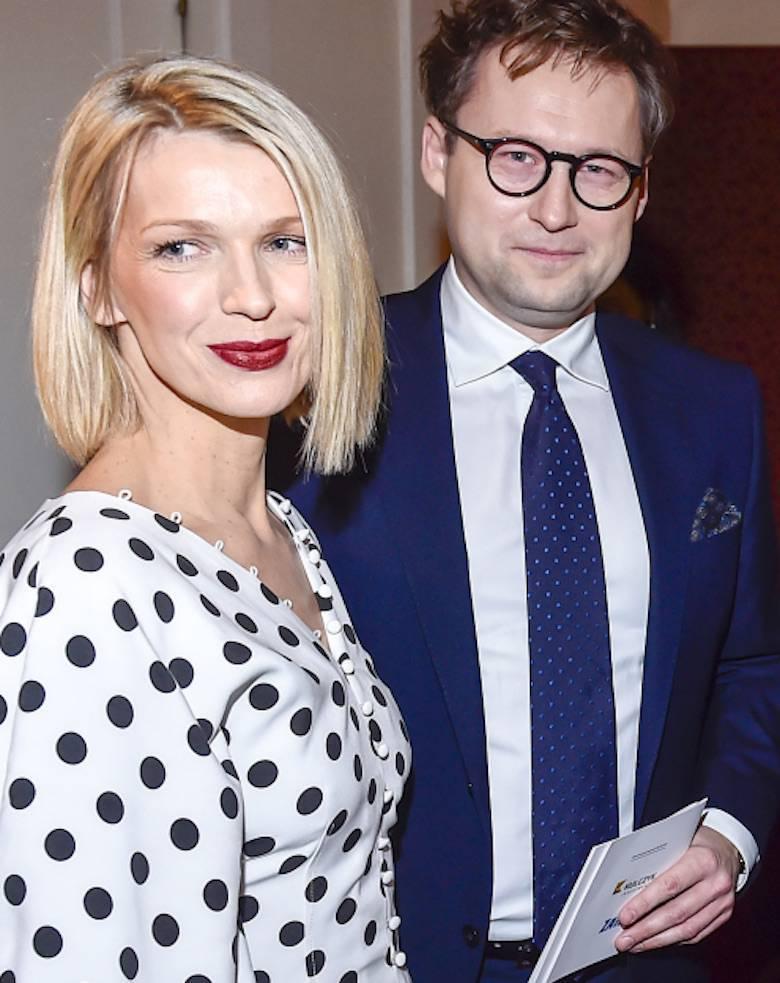 Magda Mołek z mężem – Paszporty Polityki 2020