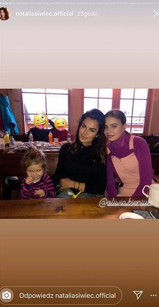 Oliwia Bieniuk, Natalia Siwiec i Mia - sylwester 2019