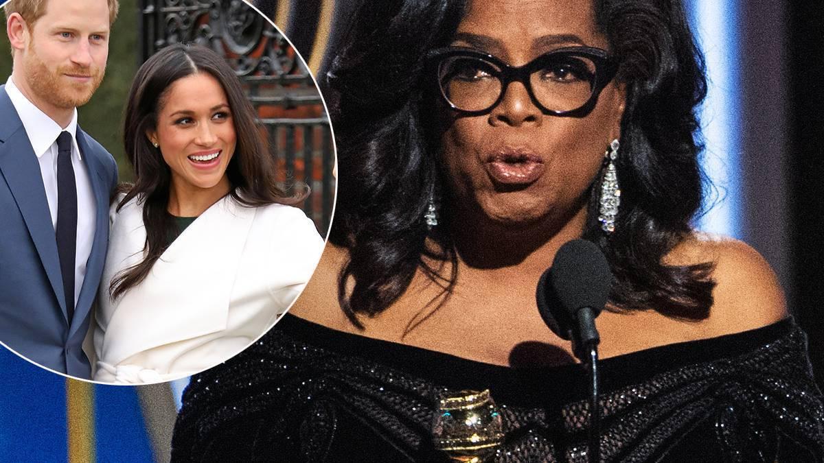 Oprah Winfrey namówiła Meghan Markle i Harry'ego do opuszczenia rodziny królewskiej