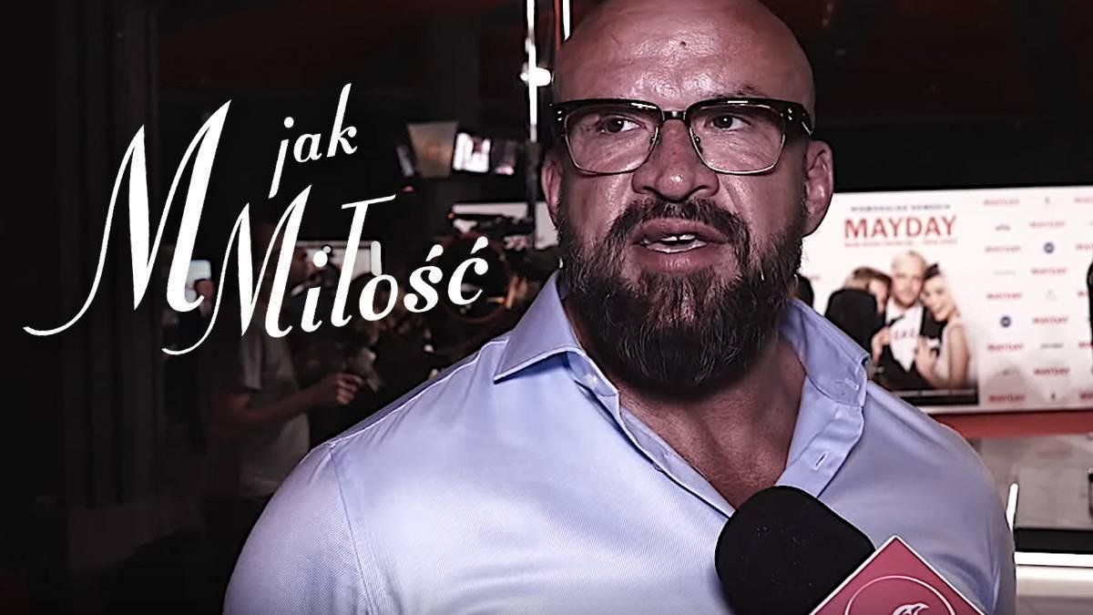 Tomasz Oświeciński o warunkach pracy w M jak miłość
