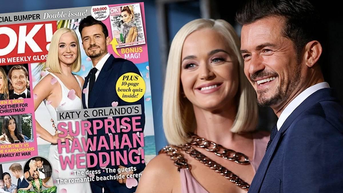 Katy Perry i Orlando Bloom wzięli ślub – tak twierdzi OK!