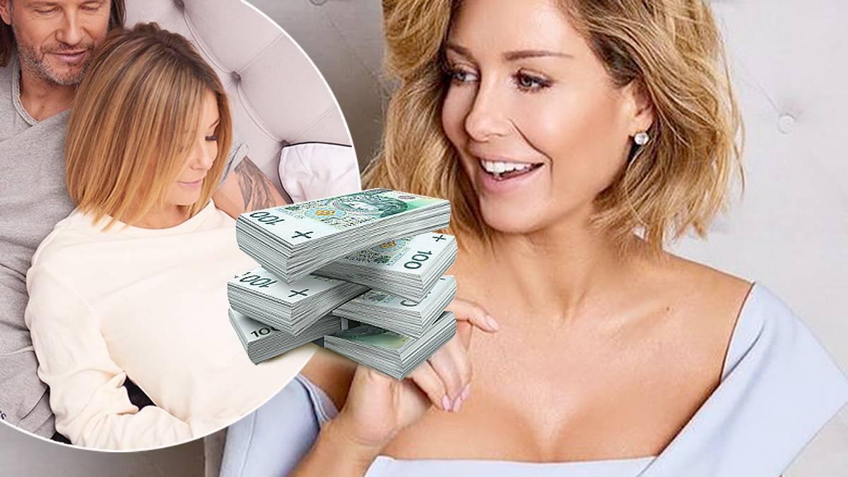 Małgorzata Rozenek: ile zarobi na ciąży?