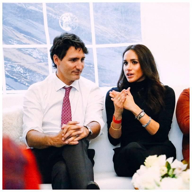 Meghan Markle i Justin Trudeau, Instagram