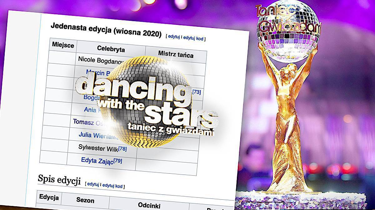 Taniec z gwiazdami 2020: pary