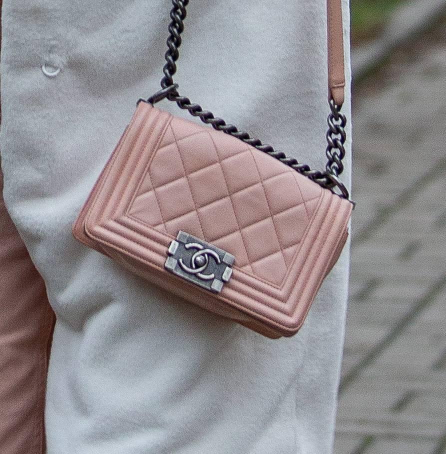 Małgorzata Rozenek z torebką Chanel