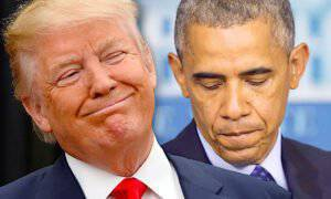 Barack Obama, Donald Trump
