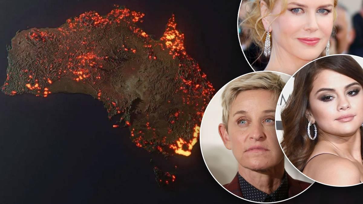Pożary w Australii: Które gwiazdy wspierają?