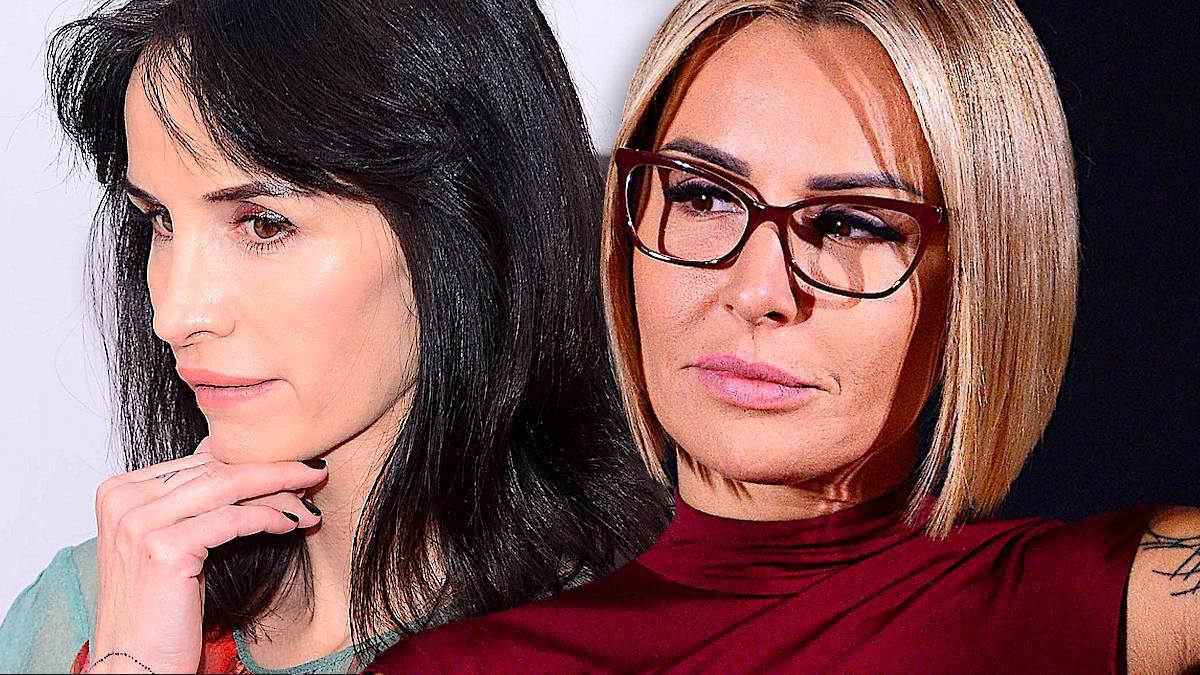 Viola Kołakowska i Blanka Lipińska