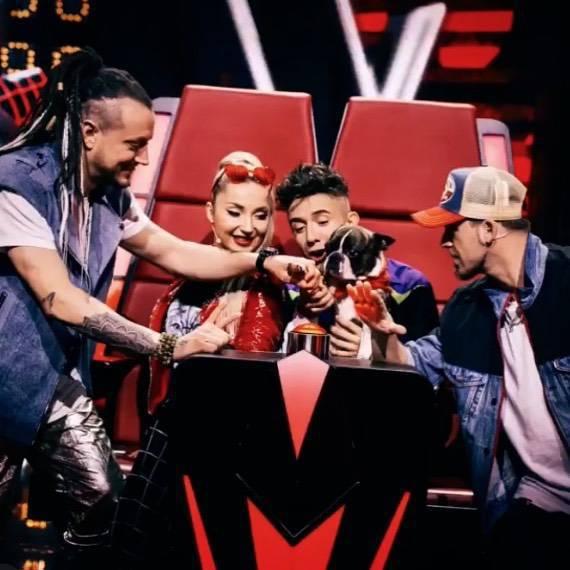 The Voice Kids 3 jury