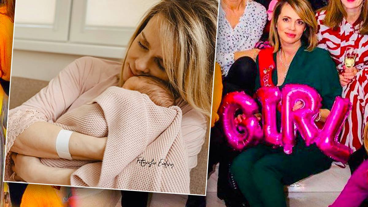 Weronika Marczuk urodziła córkę