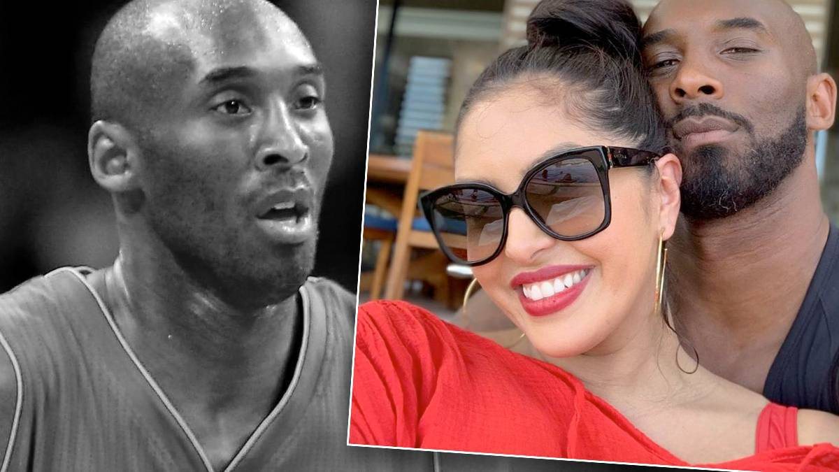 Kobe Bryant z żoną