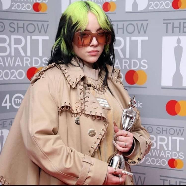 Billie Eilish na BRIT Awards 2020
