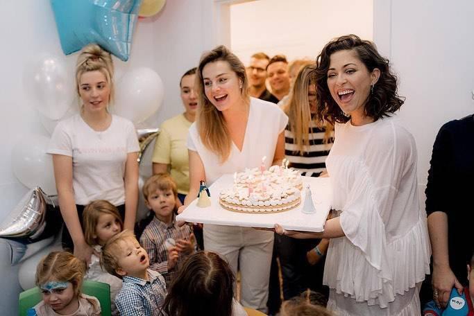 urodziny córek Małgorzaty Sochy i Natalii Kukulskiej