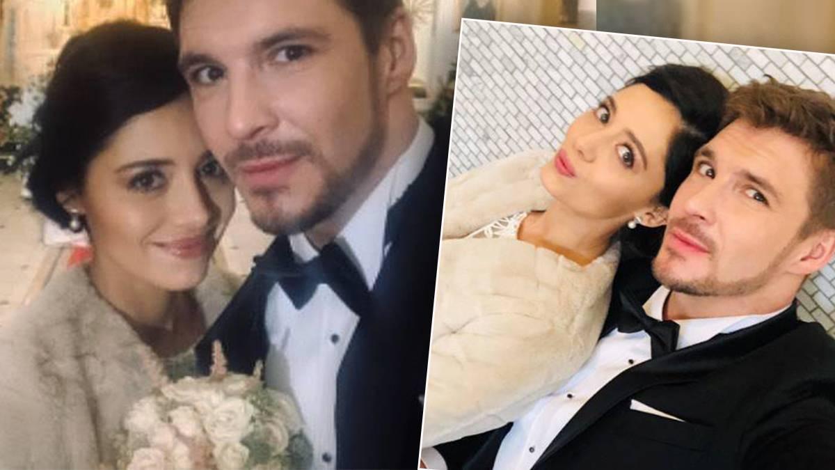 Adriana Kalska i Mikołaj Roznerski - ślub