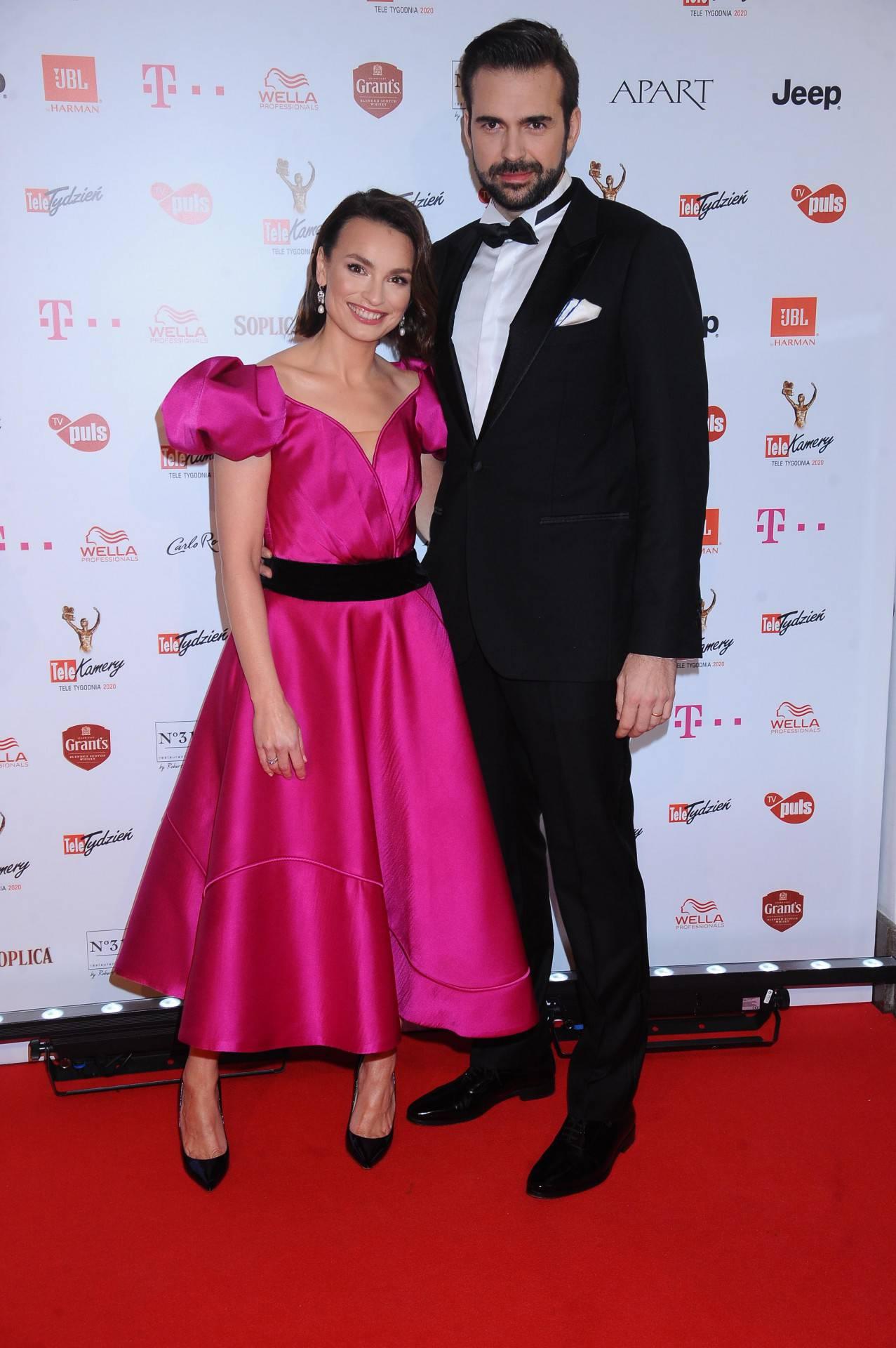 Anna Starmach z mężem – TeleKamery 2020