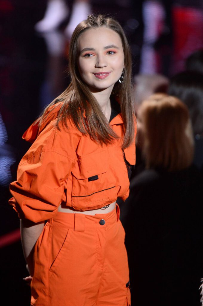 Anika Dąbrowska na Finale The Voice Kids 3
