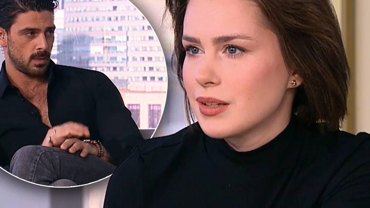 Anna Maria Sieklucka i Michele Morrone w Dzień Dobry TVN