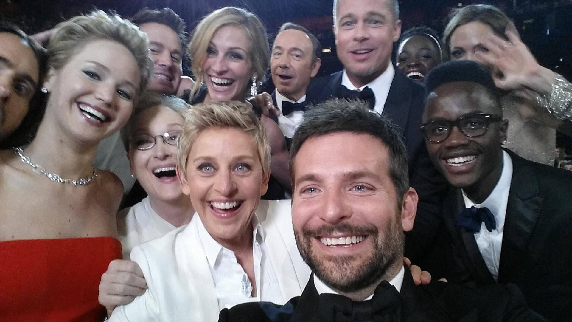 Oscarowe selfie z 2014 roku, Ellen Degeneres Twitter