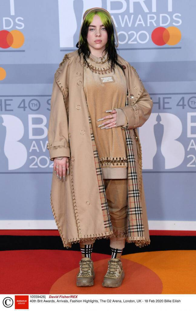 Brit Awards 2020 - Billie Eilish
