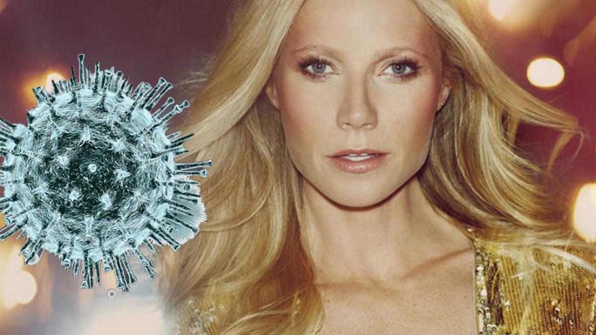 Gwyneth Paltrow - boi się koronawirusa