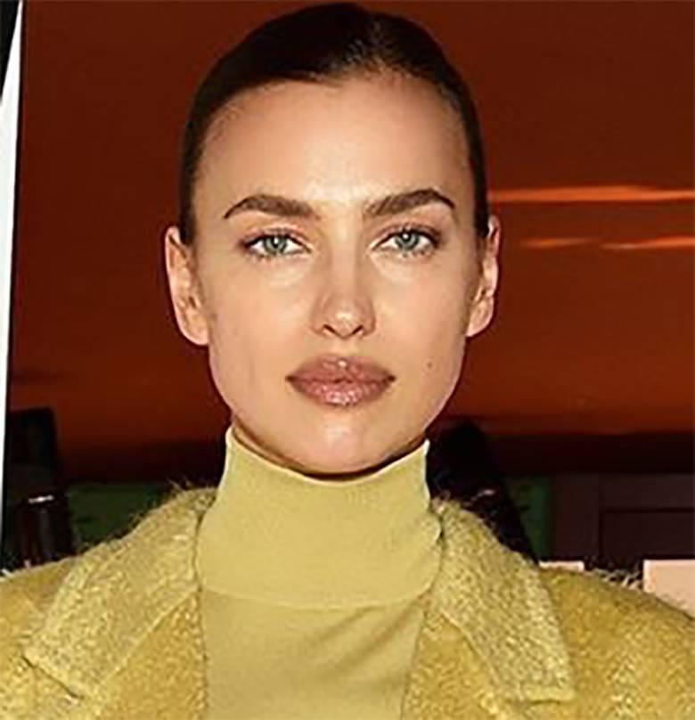 Irina Shayk - makijaż, Milan Fashion Week 2020