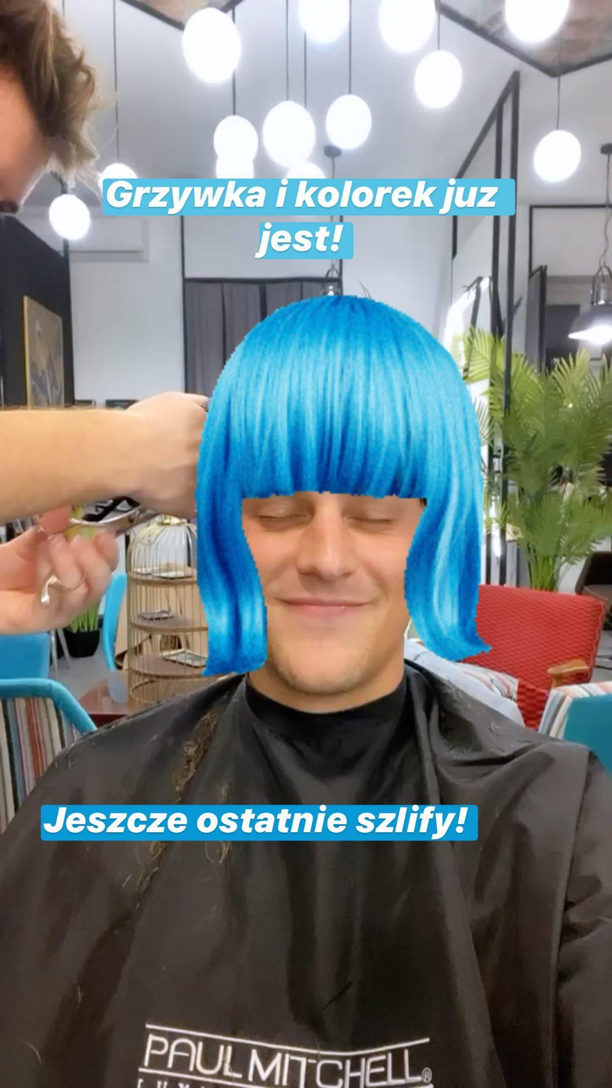 Jakob Kosel w nowym kolorze włosów. Jaki wybrał?
