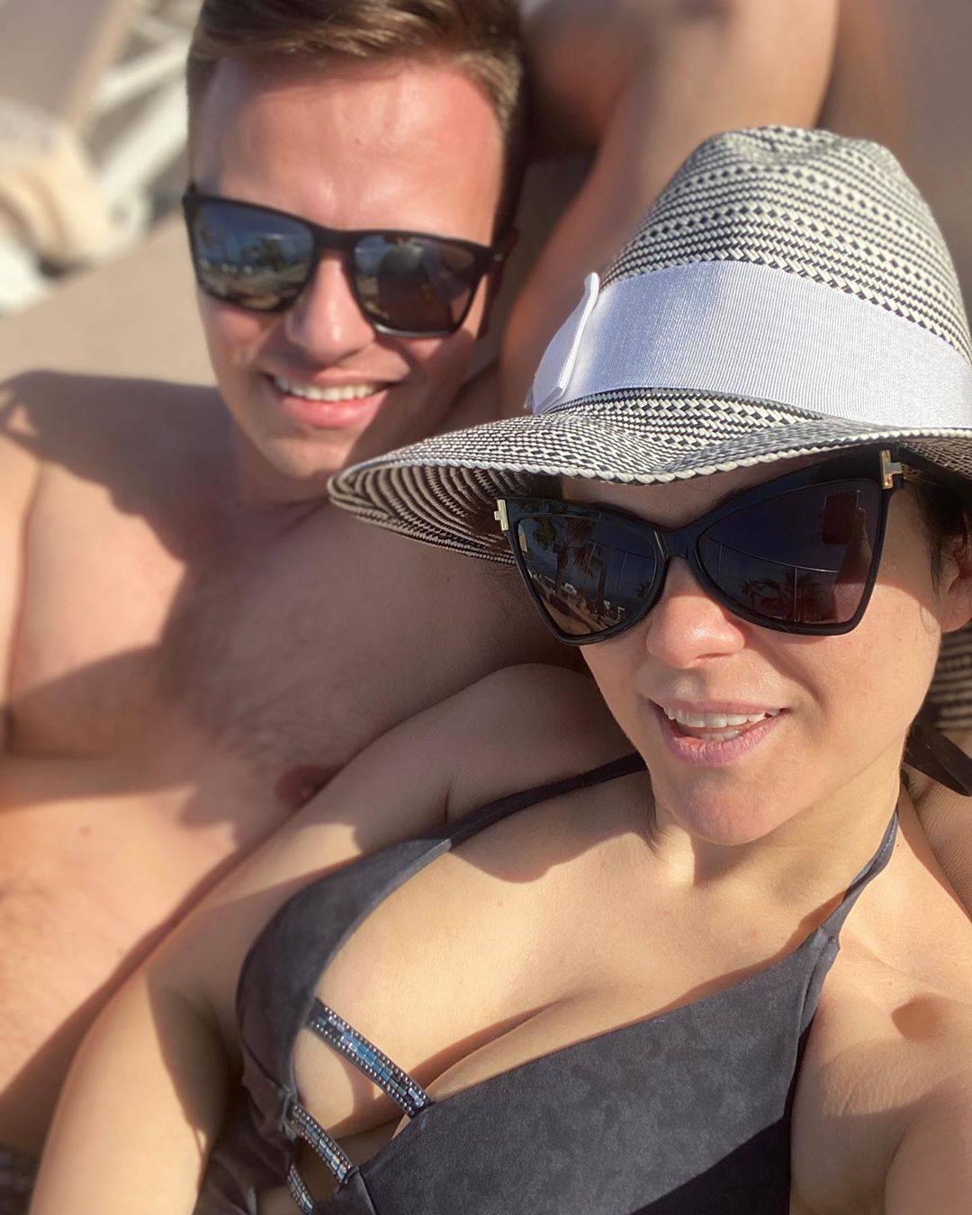 Katarzyna Cichopek i Marcin Hakiel na wakacjach