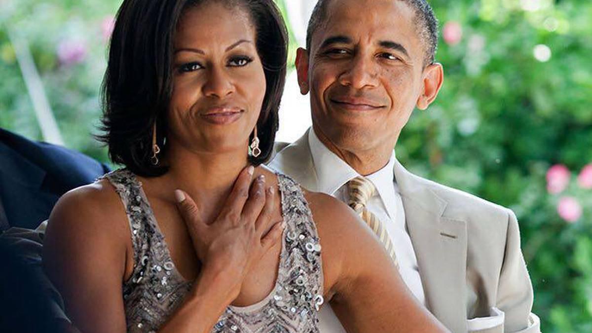 Michelle i Barack Obama - polska porcelana