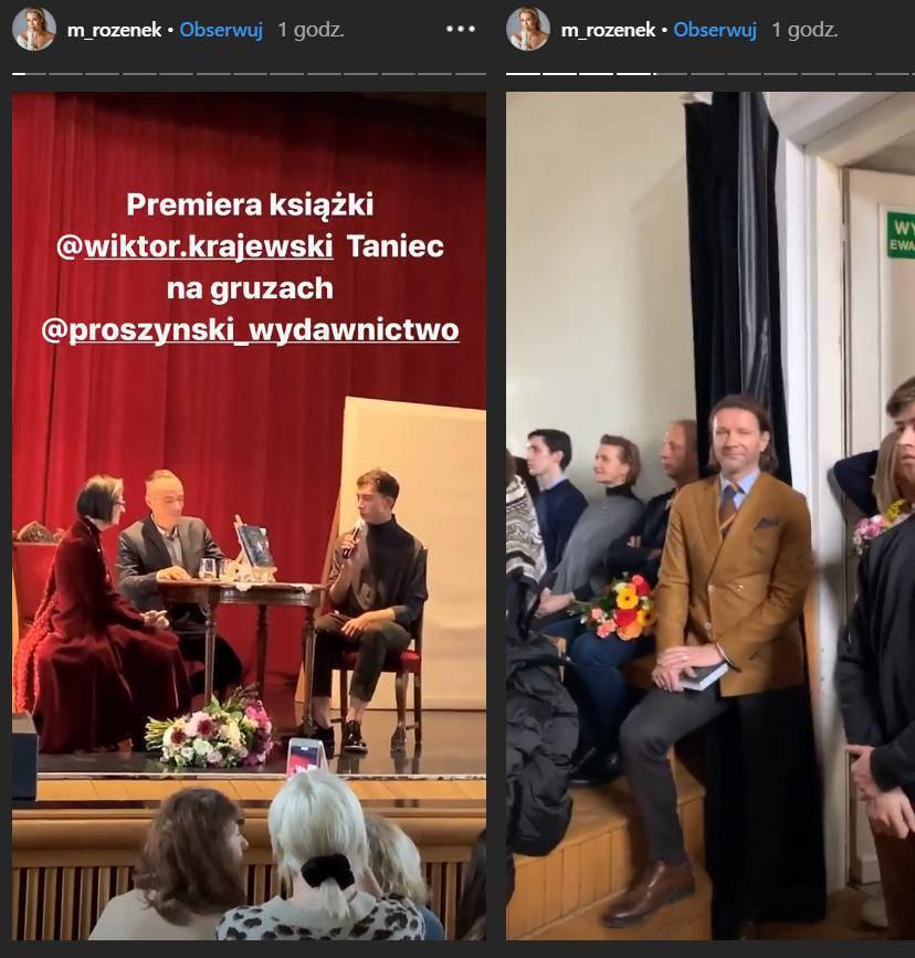 Premiera Książki Wiktora Krajwskiego
