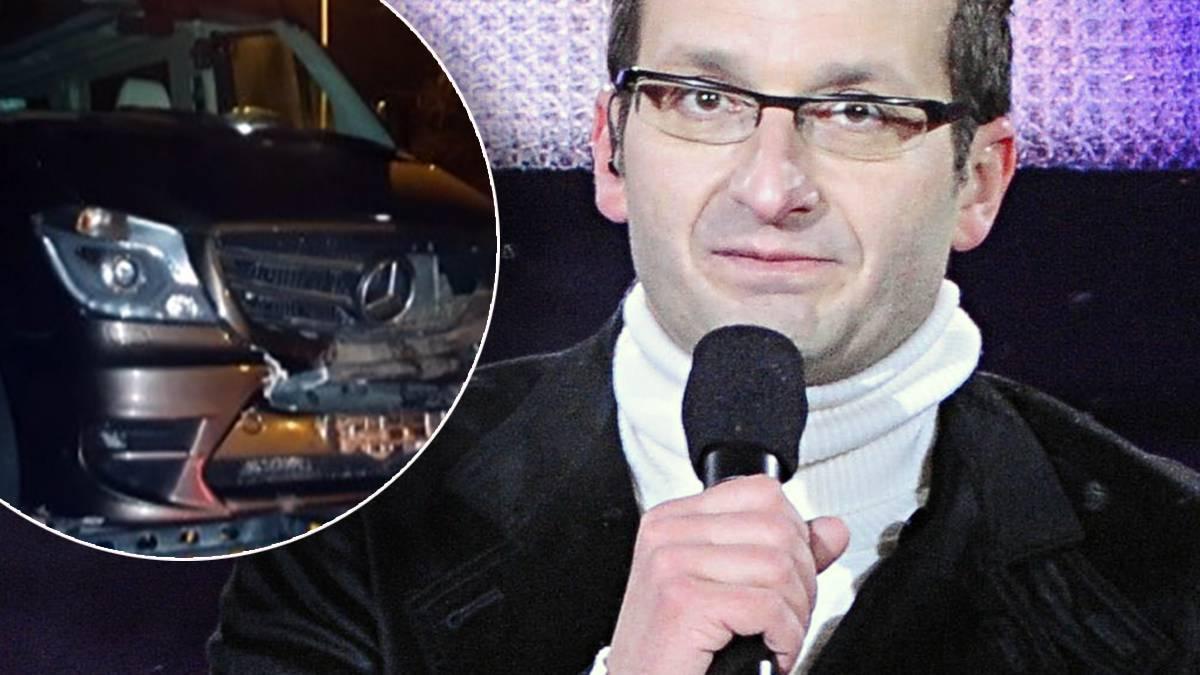 Robert Górski miał wypadek samochodowy. Co się stało?