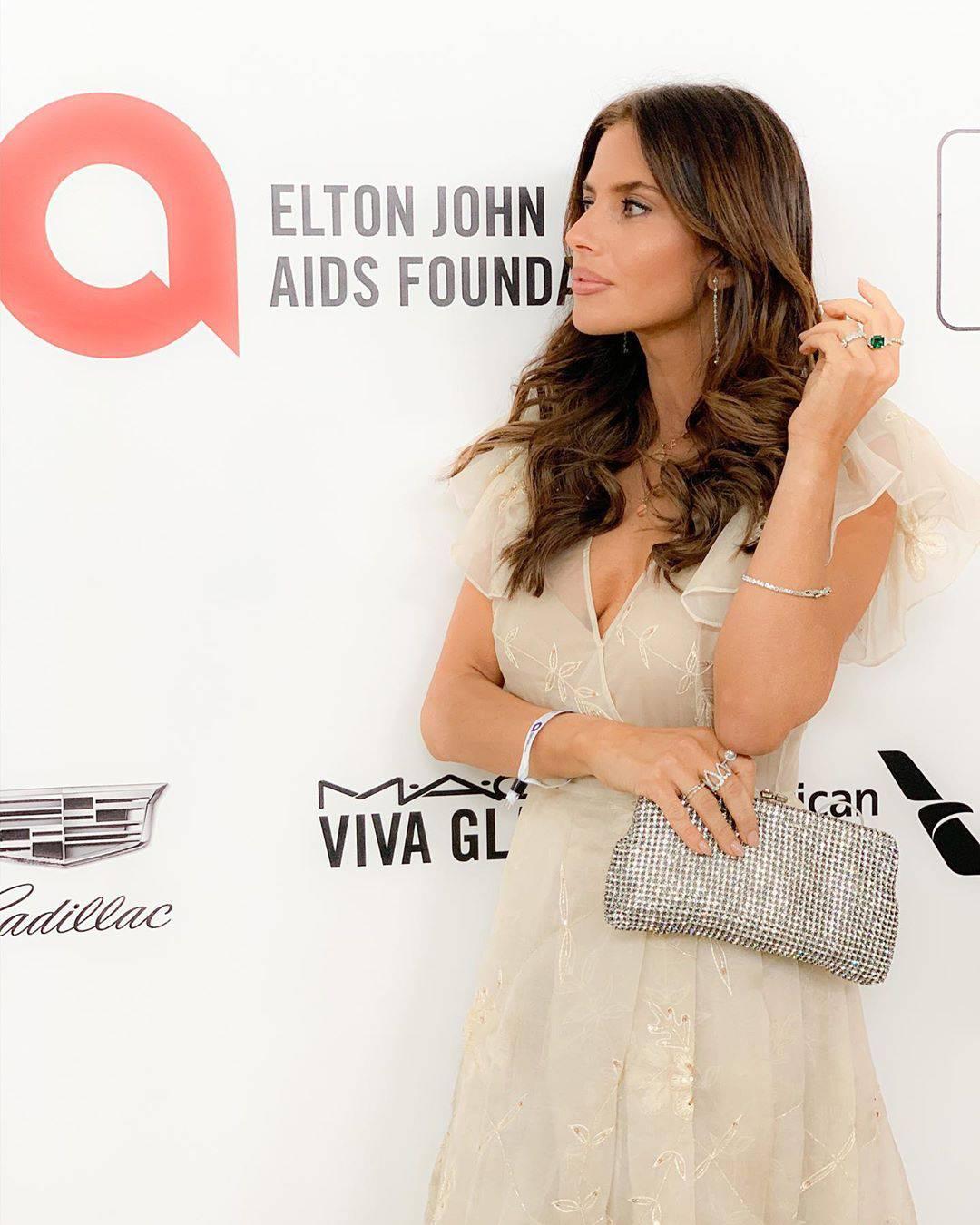 Weronika Rosati na imprezie u Eltona Johna. Jak wyglądała?