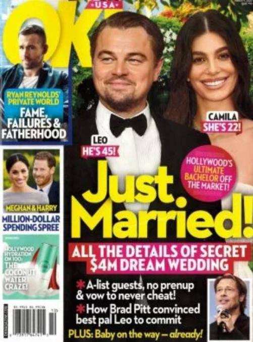 Leonardo DiCaprio i Camilla Morrone wzięli ślub?