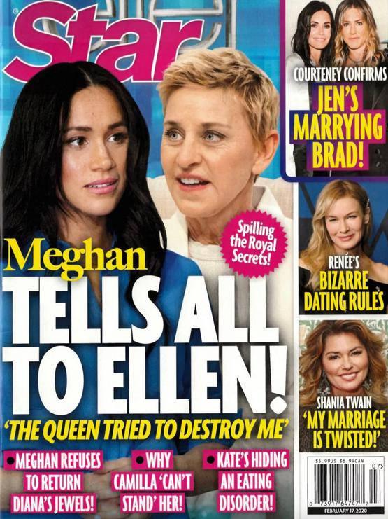 Meghan Markle odwiedzi Ellen DeGeneres?