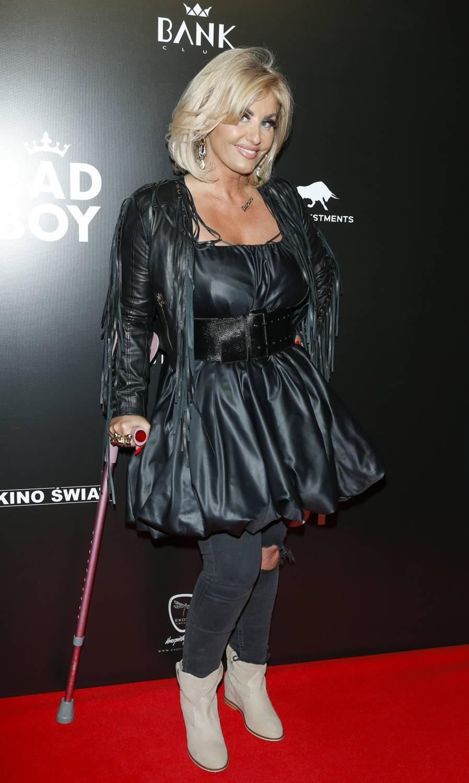 Dagmara Kaźmierska na premierze Bad Boy