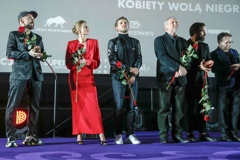 Patryk Vega, Katarzyna Zawadzka, Antoni Królikowski, Andrzej Grabowski - premiera Bad Boy